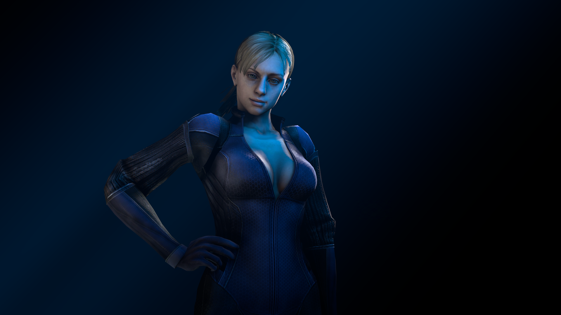 Jill valentine cosplay topless sexy pictures