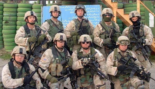 A Squad, US Army. Big Red One by meshmdz on DeviantArt