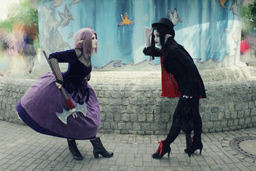 Missi and Duchess Cosplay (The Vampair) 2 by IMissMi
