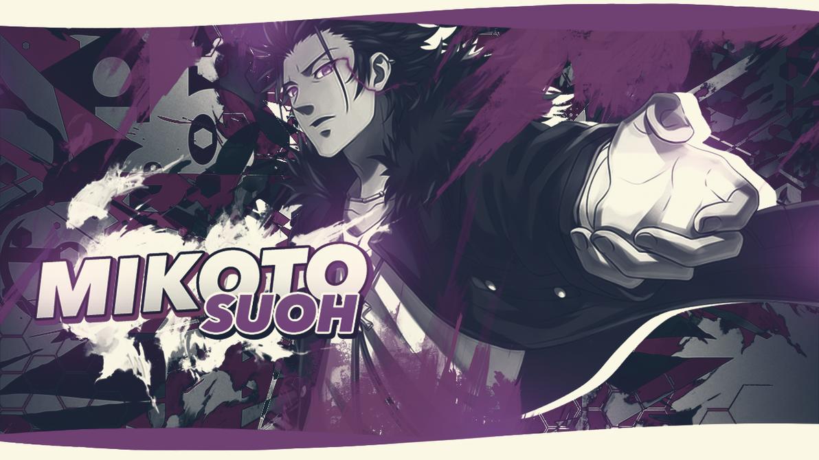 Mikoto Suoh Wallpaper by KaiichiiGFX