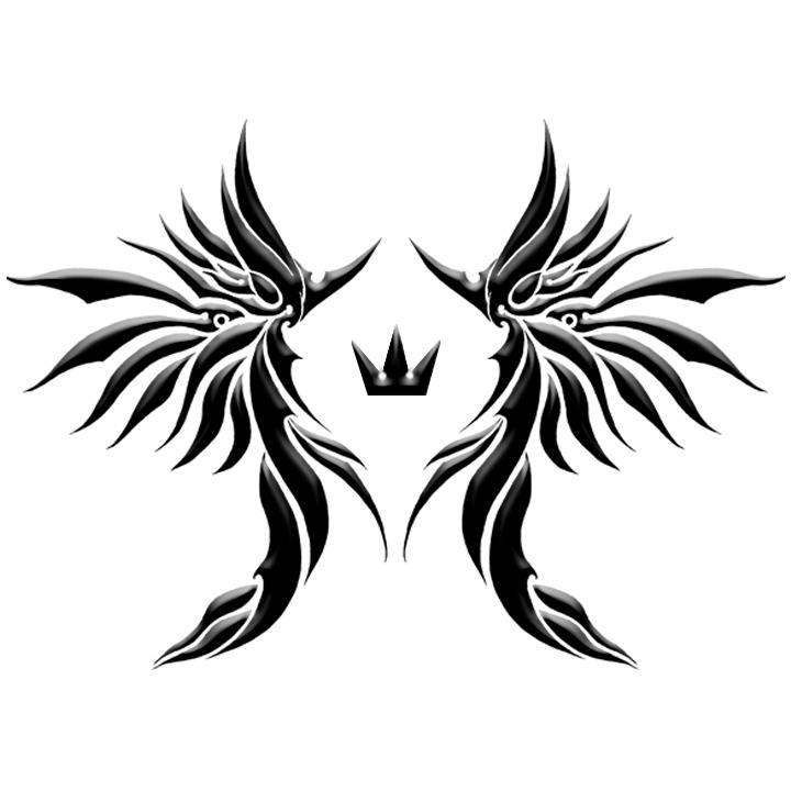 tribal crown mark by skysora on deviantart. Black Bedroom Furniture Sets. Home Design Ideas