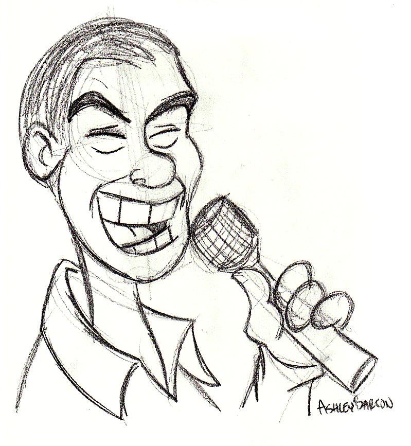 Caricature by SuperRamen