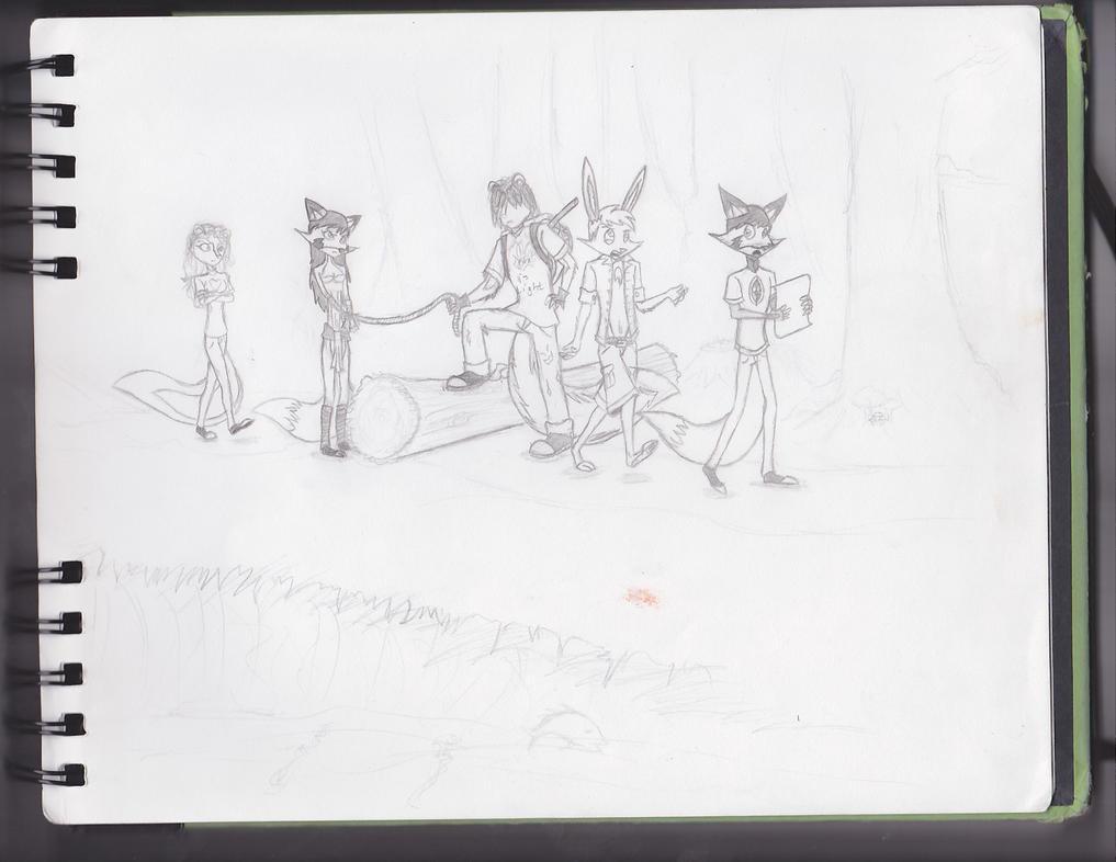 TLOPK Sneak Peek 7: The Main Cast by knoxskorner01