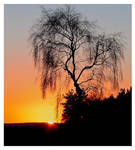 derbyshire sunset