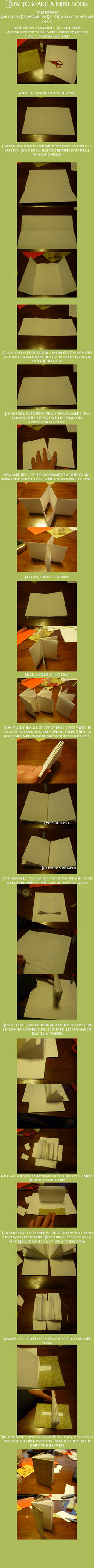 How to make a Mini Book