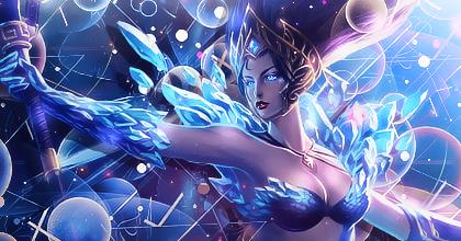 Frost Queen Janna by eskeleton22