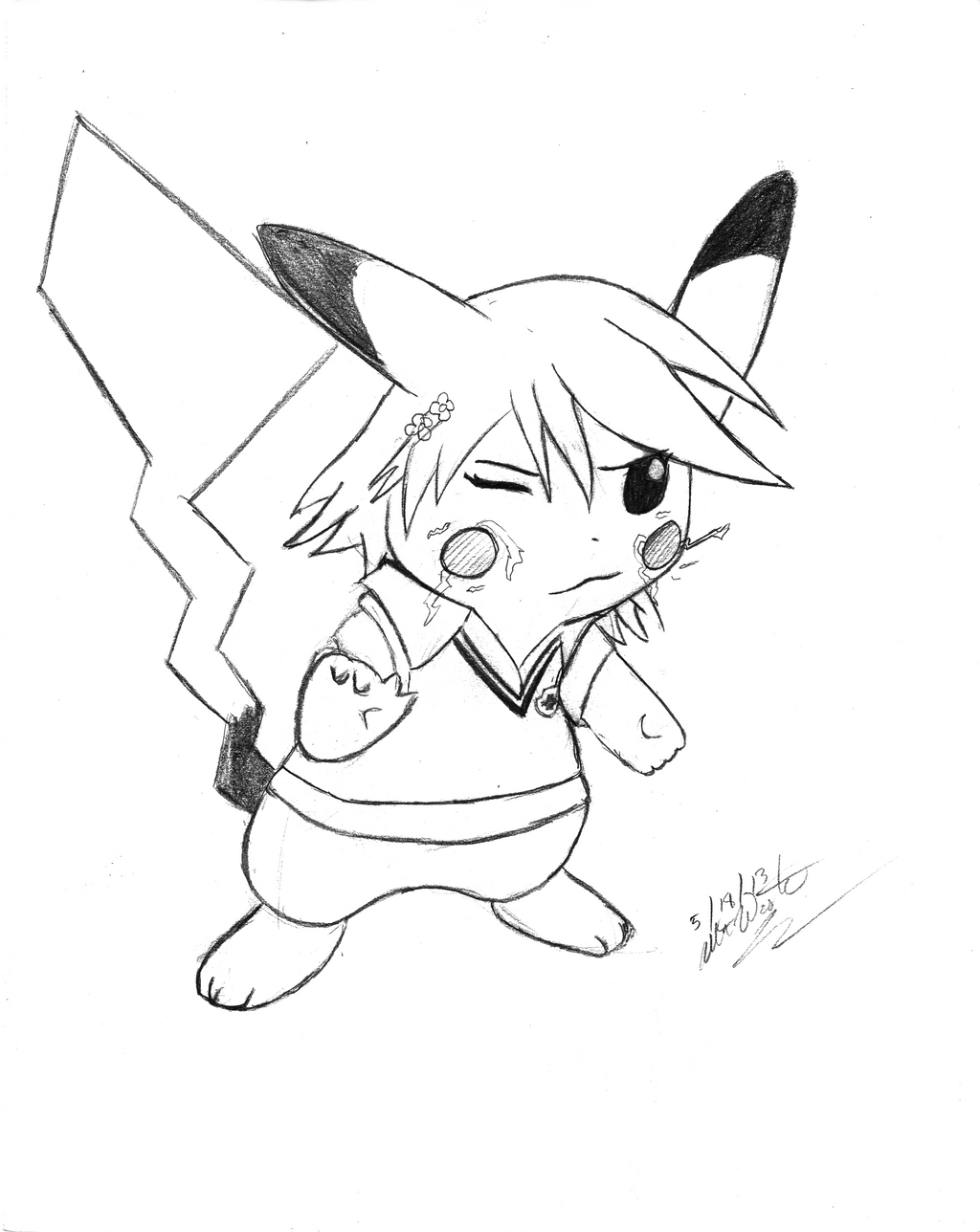 Sketch reqeust misaka pikachu by odysseywestra on deviantart sketch reqeust misaka pikachu by odysseywestra pronofoot35fo Gallery