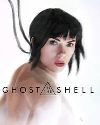 Ghost in the Shell by rebeccajoart