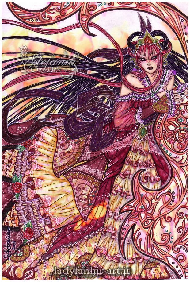Goddess Of Eternal Sunset by Fanhir