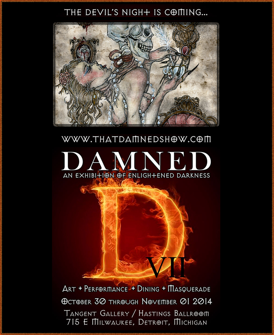 Damned VII Show - Oct 30 to Nov 1 2014 by Fanhir