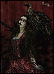 Skadegamutc - New Era Ghost Witch by StefaniaRusso