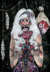 Gluttony - Dante's Inferno by StefaniaRusso