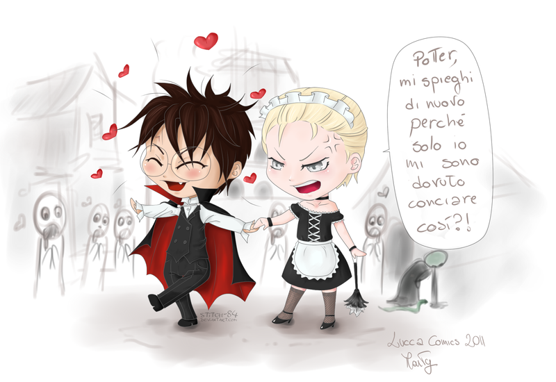 Drarry Chibi: Drarry Cosplay By Stitch-84 On DeviantArt