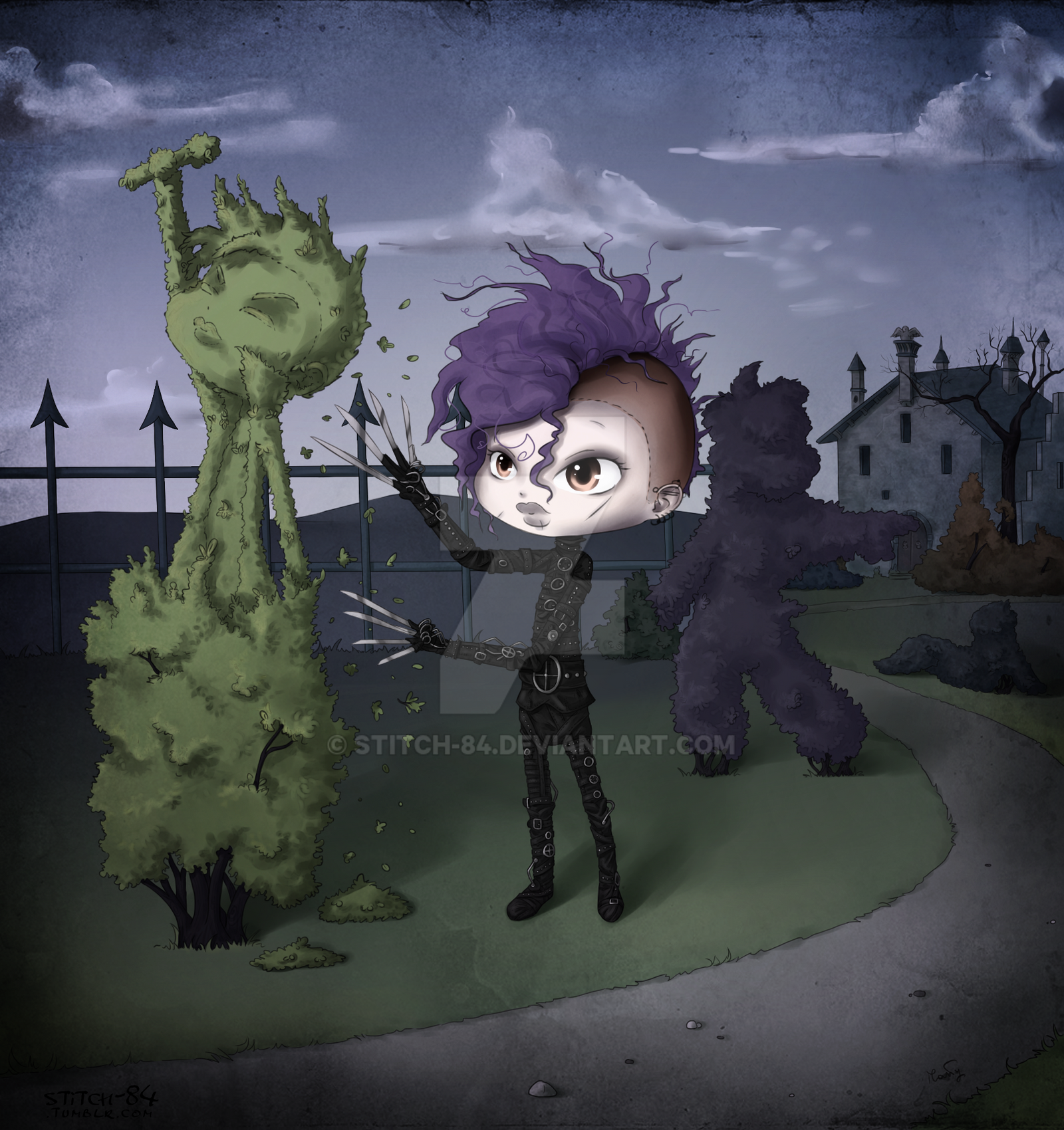 Tommy Joe scissorhands by stitch-84