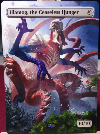 MtG alter: Ulamog, the Ceaseless Hunger by stitch-84 on DeviantArt