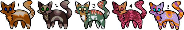 4/5 Cat Adopts OPEN