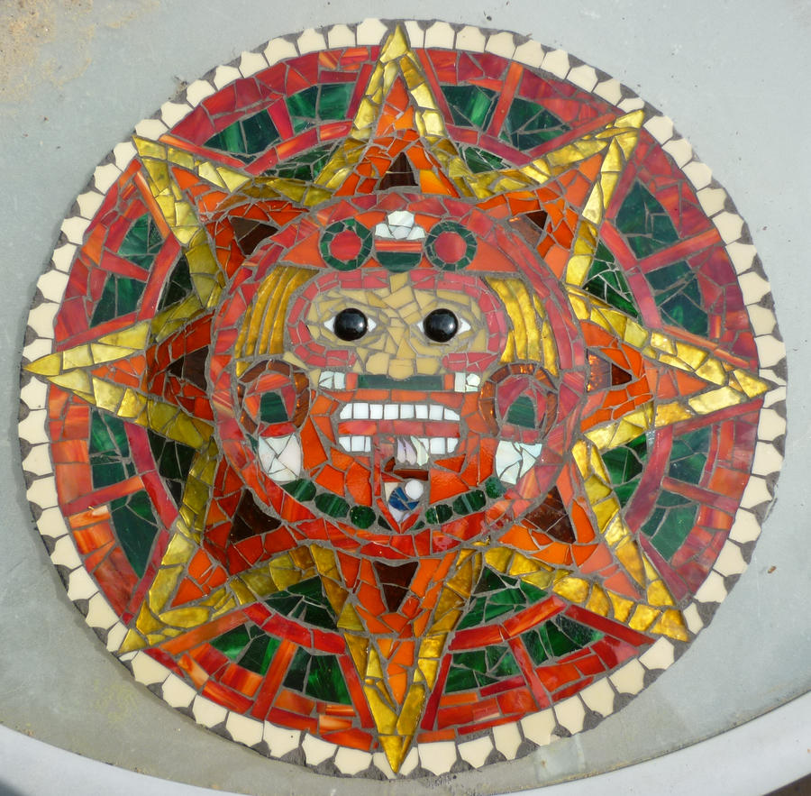 Sun God Mayan Calendar by Kamdragon on DeviantArt