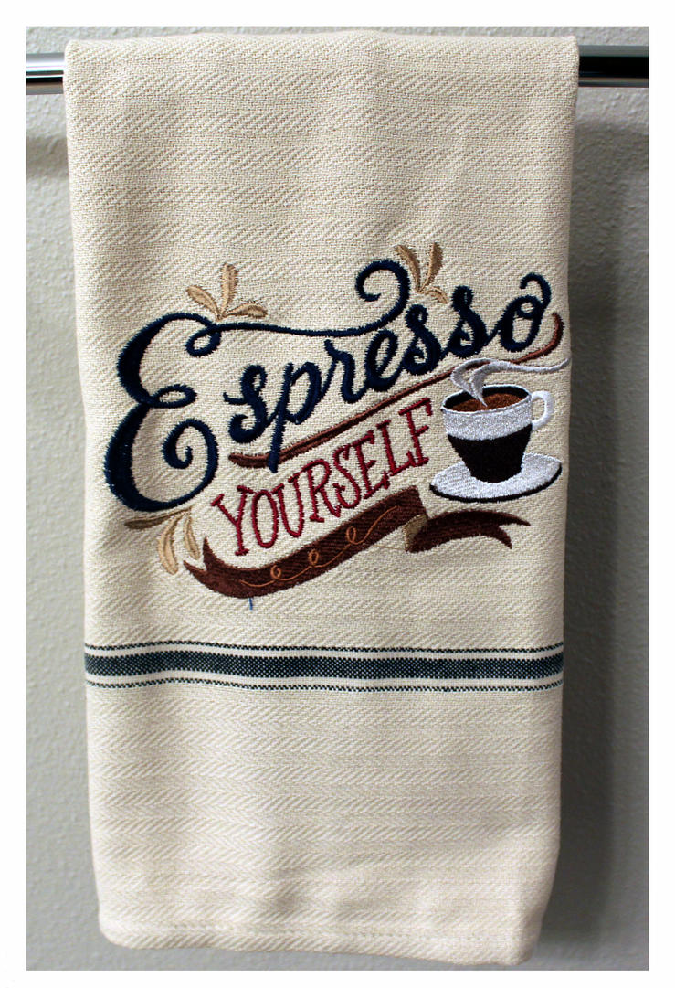 Espresso yourself kitchen towel by caraut on deviantart espresso yourself kitchen towel by caraut solutioingenieria Choice Image