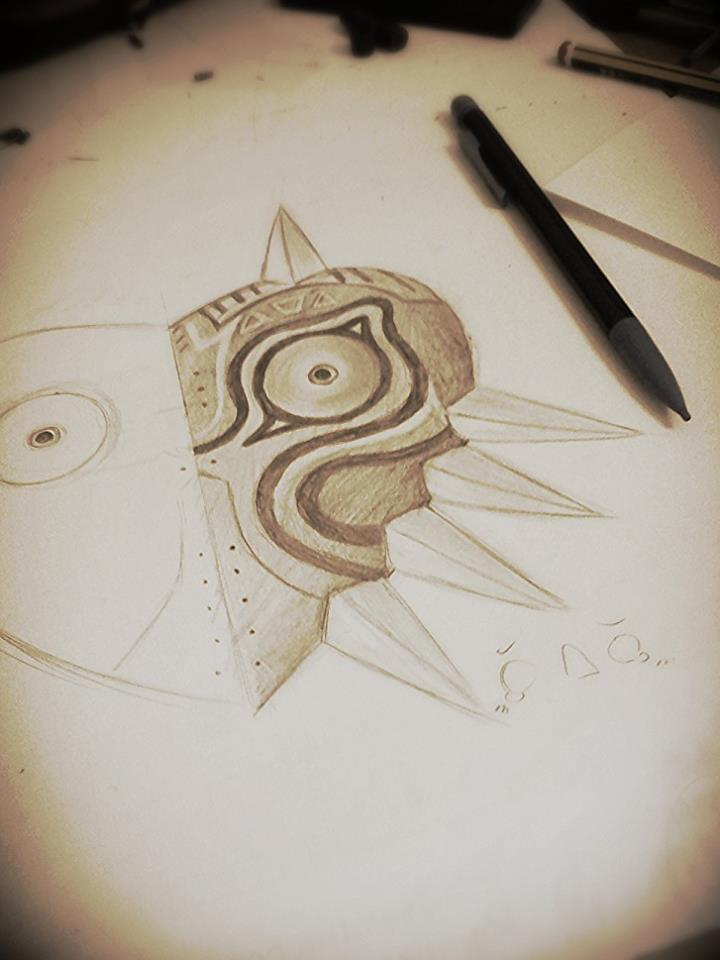 Majora's mask by AokiBelgii