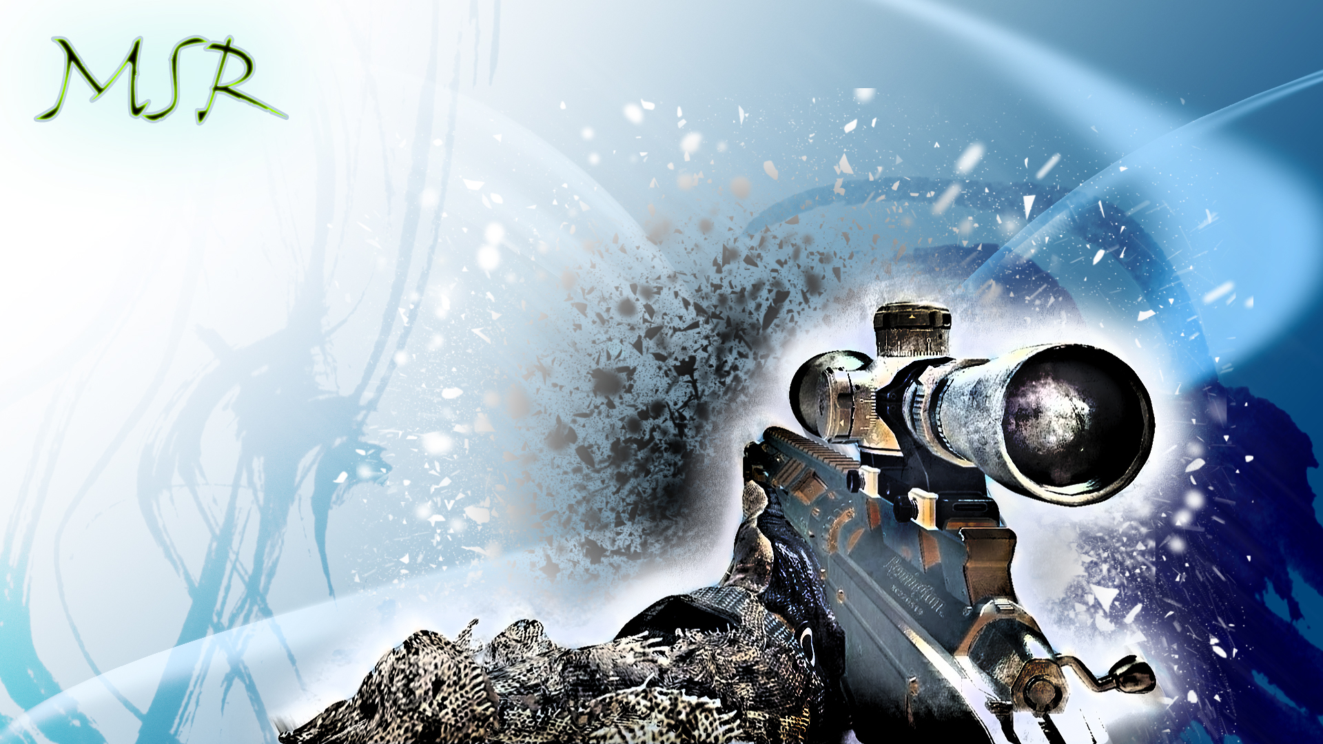 MW3:MSR Background 1920x1080 by micycle on DeviantArt