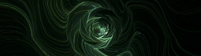 Wireframe Vortex (3840x1080) by micycle
