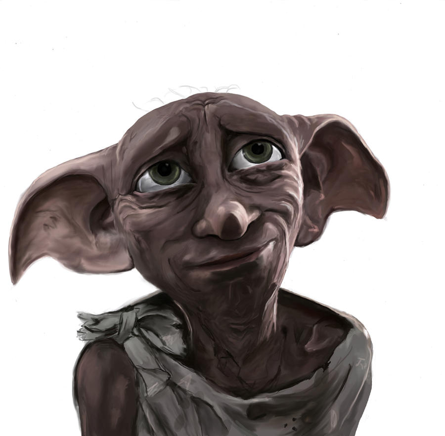 Dobby a free Elf by LovelyHufflePuff