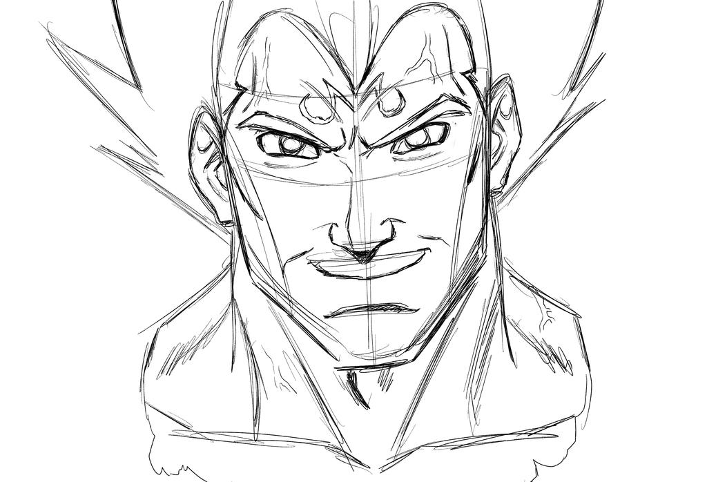 Dark Prince sketch by Jokar216