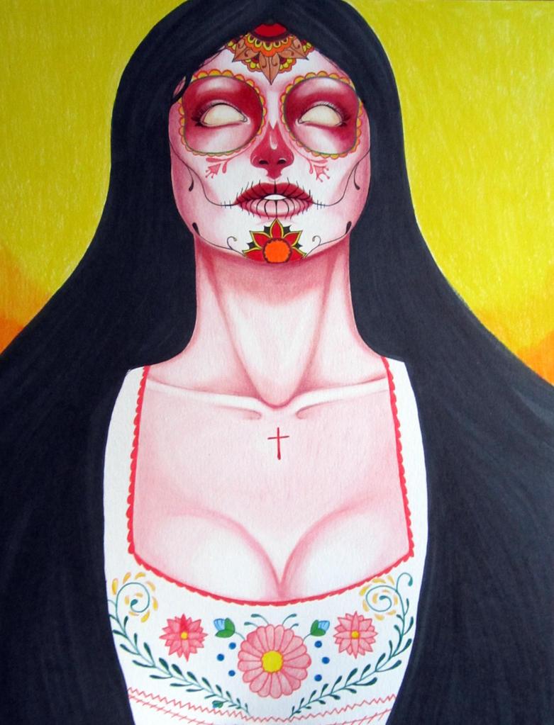 Dia De Los Muertos by batcat1
