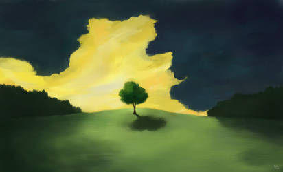 A painting a day: 1 by inductivegnome