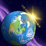 Animation background - Earth by MichaelVogt