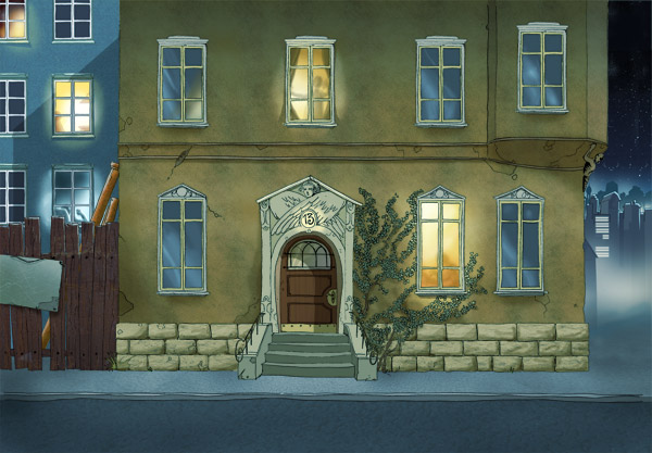Animation background house by michaelvogt on deviantart for Picture of house
