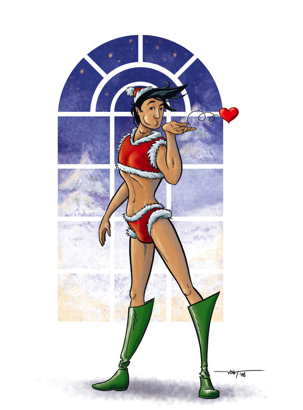 x-mas-pinup for girls