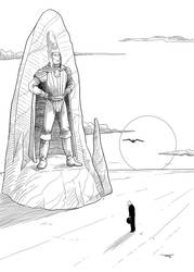 Tribute to Moebius by MichaelVogt