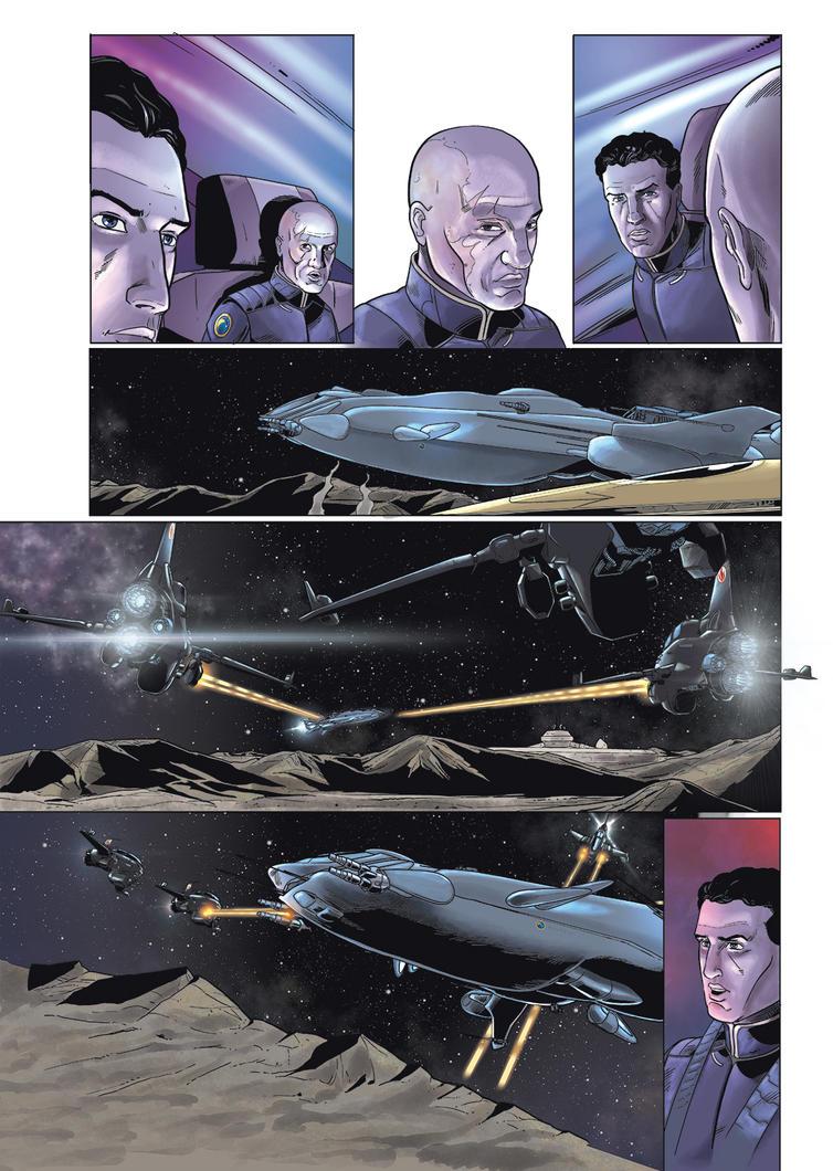 Mark Brandis Vol.2 pg.22 by MichaelVogt