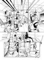 A Strange Day Episode 29 inks by MichaelVogt
