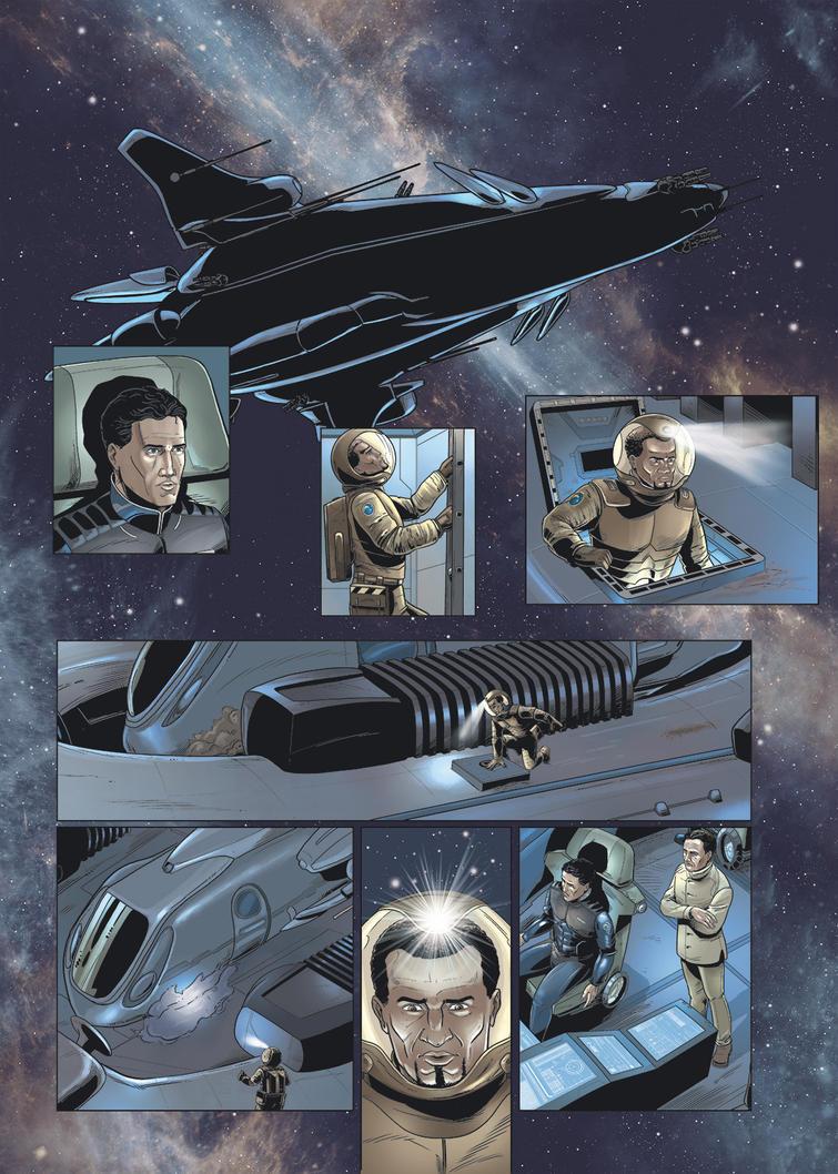 Mark Brandis Unternehmen Delphin pg 12 by MichaelVogt