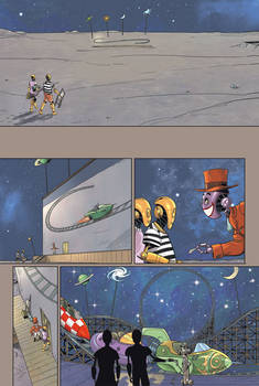 A Strange Day Holiday on the Moon page 1