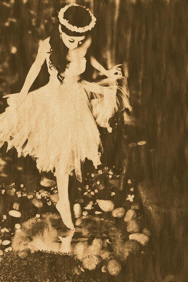 Vintage Fairy by lovexvii