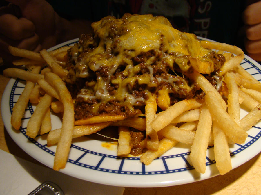 Chili Cheese Fries by stephuhnoids