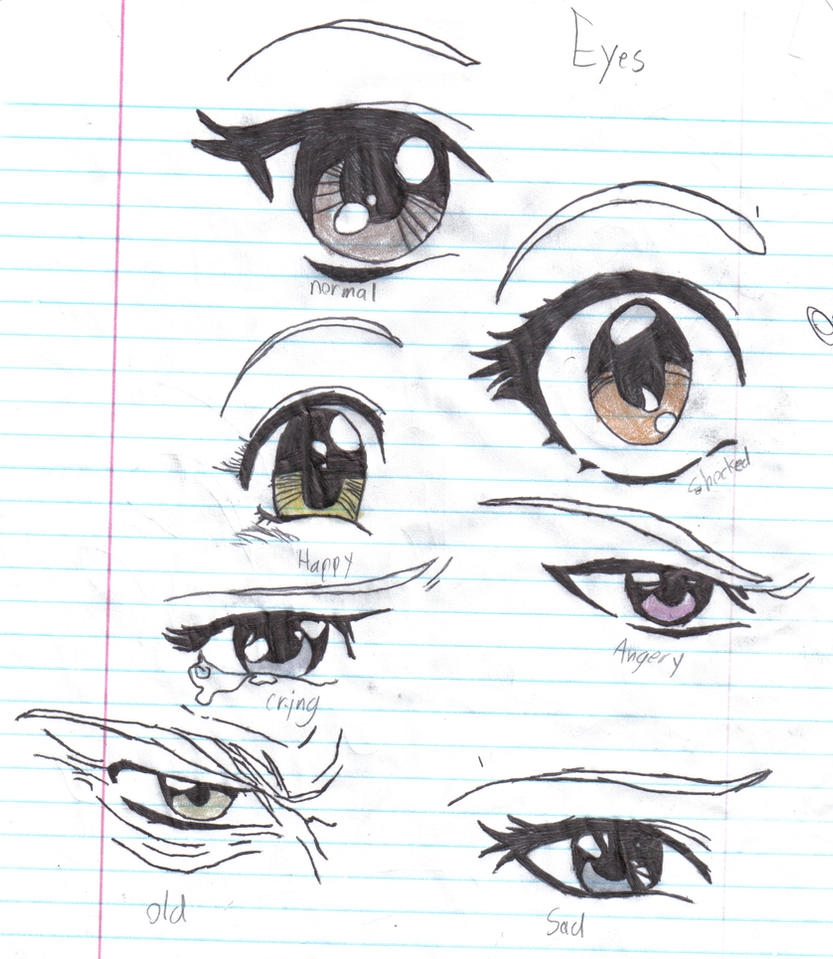 Anime eyes by crazy anime chick