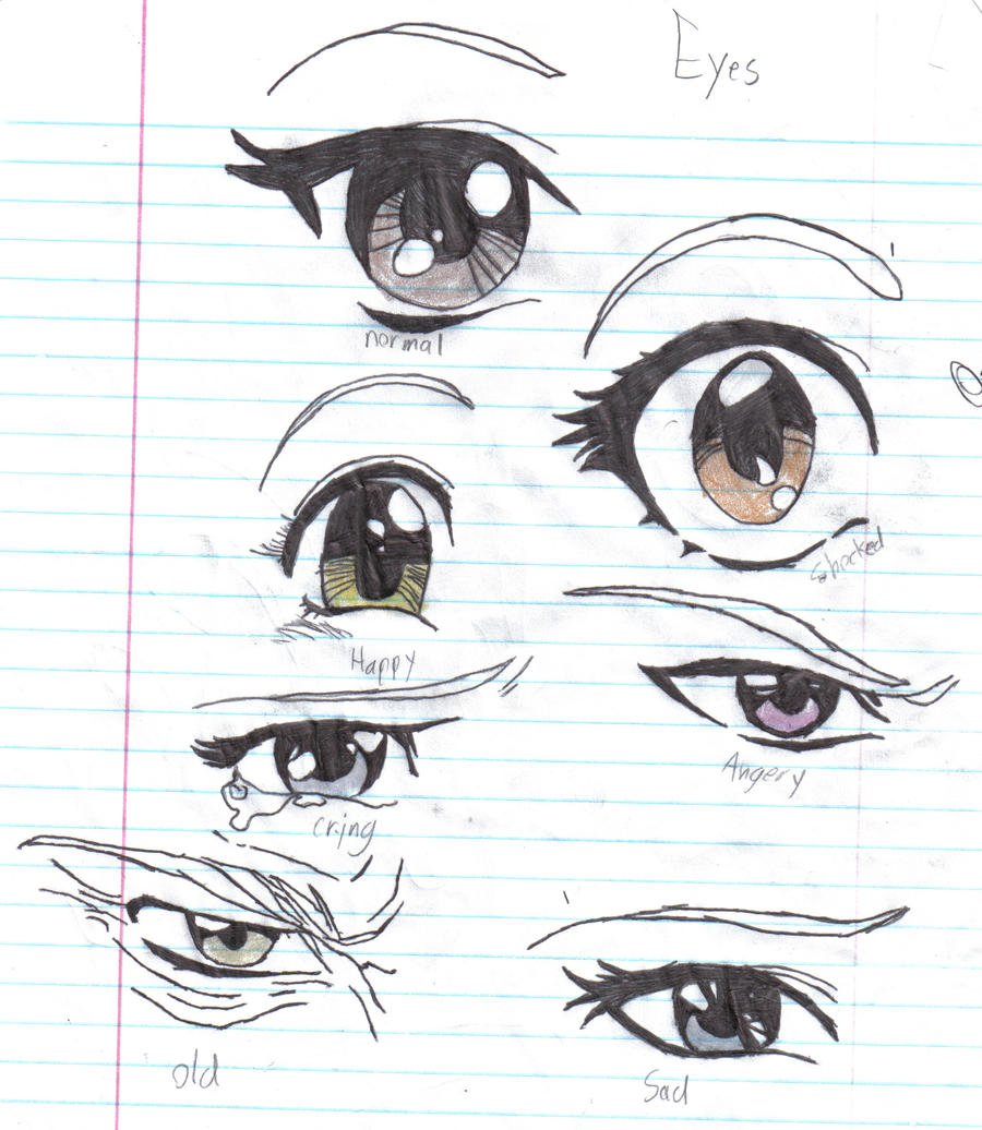 Anime Eyes By Crazy Anime Chick On Deviantart
