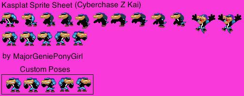 Kasplat Sprite Sheet (Cyberchase Z Kai)