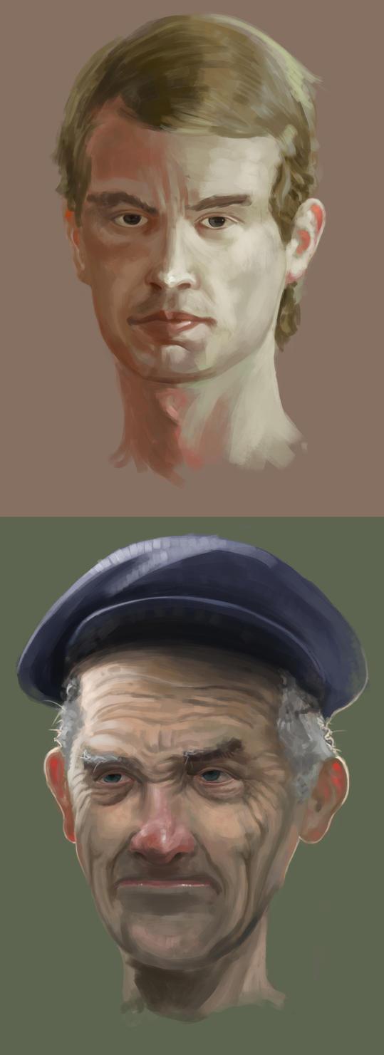 Portraits by Anritco