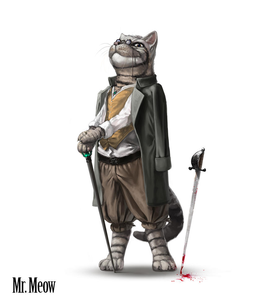 Mr Meow by Anritco