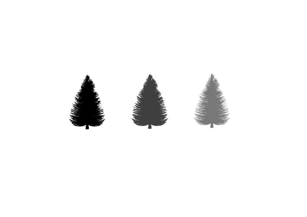 Minimalist Pine Tree: Minimalist Trees Wallpaper By Aphixxia95 On DeviantArt