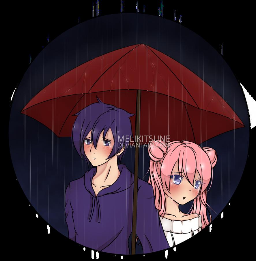 [Stardew Valley] Rainy Love by MeliKitsune