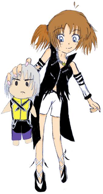 SOKH: Shôrai Of Kingdom Hearts Natsumi_10_14ans_by_Tanusi