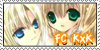 Stamp FC KarinxKazune by Tanusi