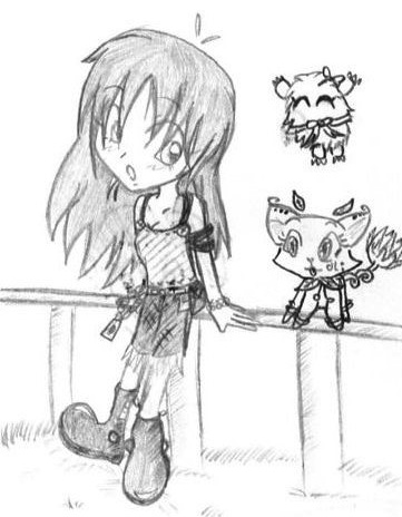 => Pour mes dessins <= - Page 4 Sora_muto_and_his_monsters_by_tanusi-d310rdg