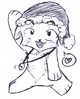 => Pour mes dessins <= - Page 4 Christmas_neko_by_tanusi-d310tub